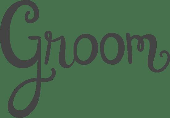 Groom Text