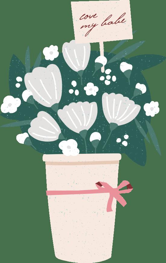 Love My Babe Bouquet