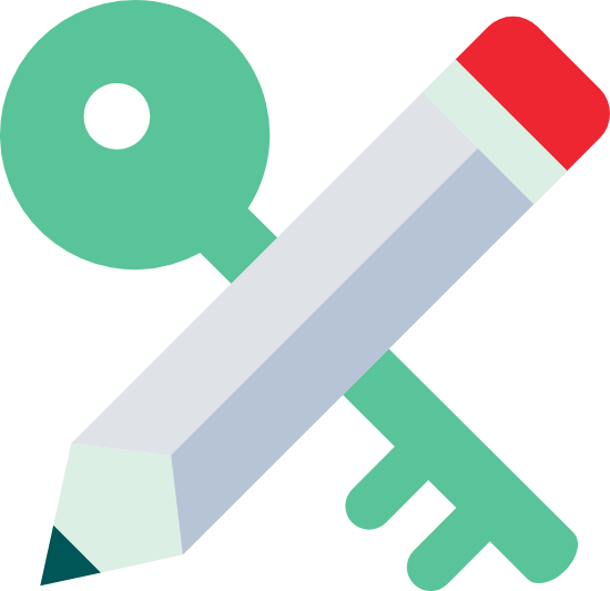 Pencil & Key
