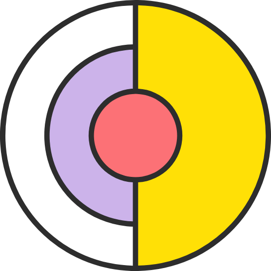 Split Circle & Dot