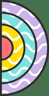 Wavy Half Circle