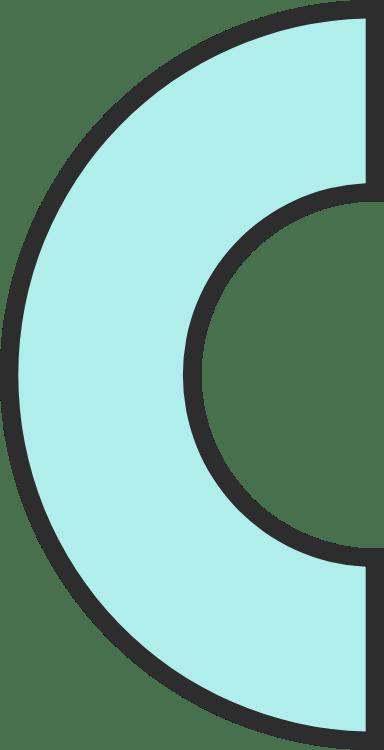 Plain Semicircle
