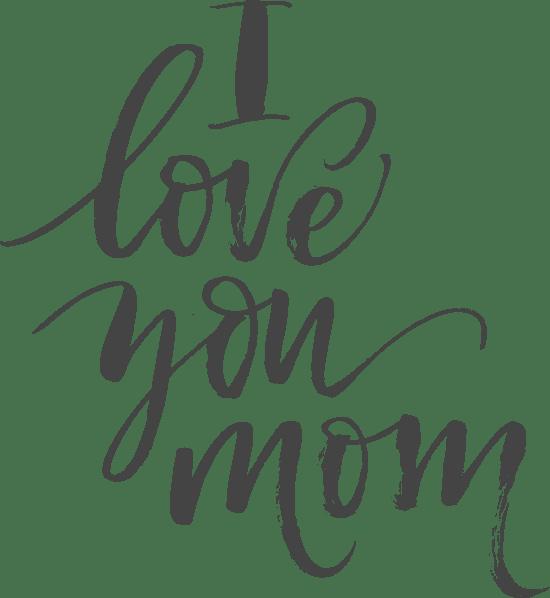 I Love You Mom Script