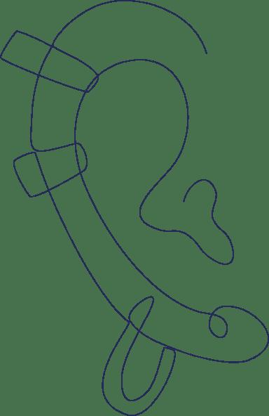 Monoline Ear Cuffs
