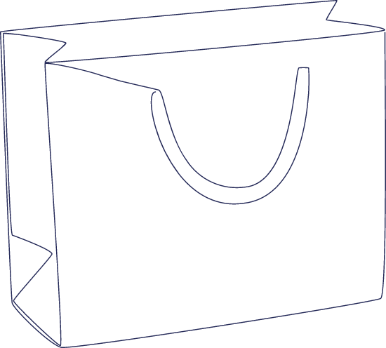 Monoline Shopping Bag