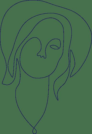 Monoline Portrait