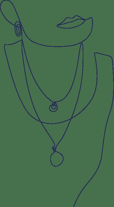 Monoline Necklaces