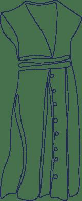 Monoline Dress
