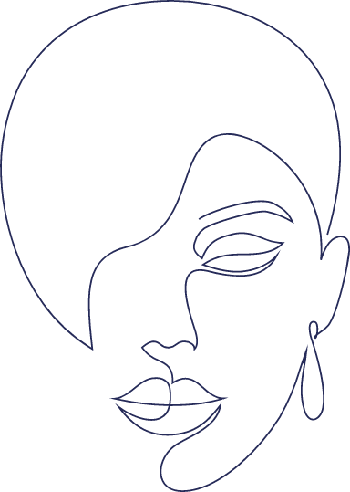 Monoline Half Face
