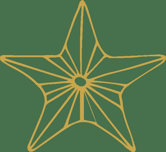 Five-Pointed Starburst