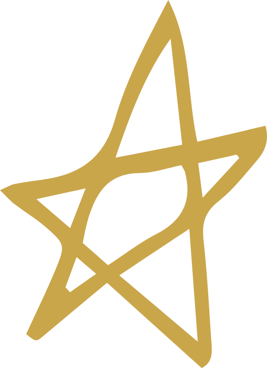 Tall Five-Pointed Star