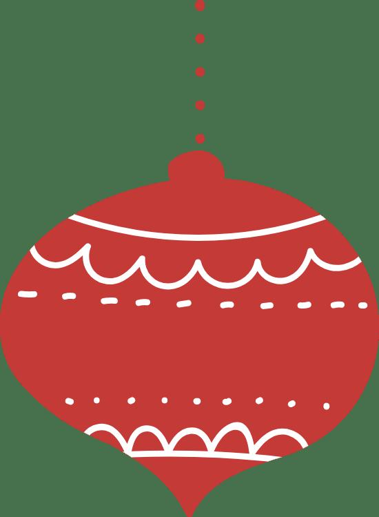 Nordic Ball Ornament