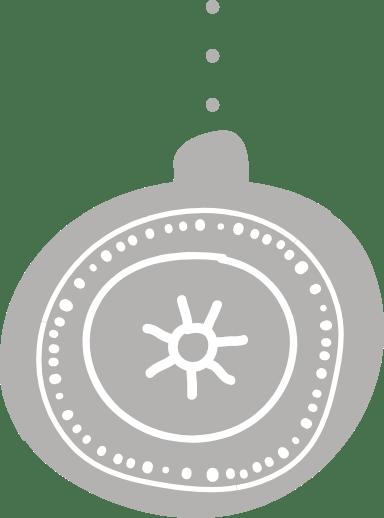 Nordic Sun Ornament