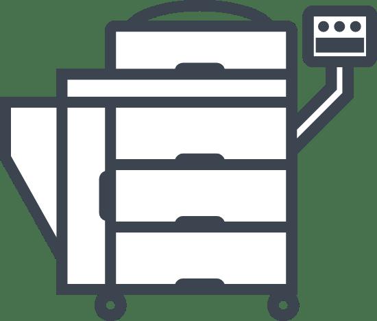 Blank Copy Machine