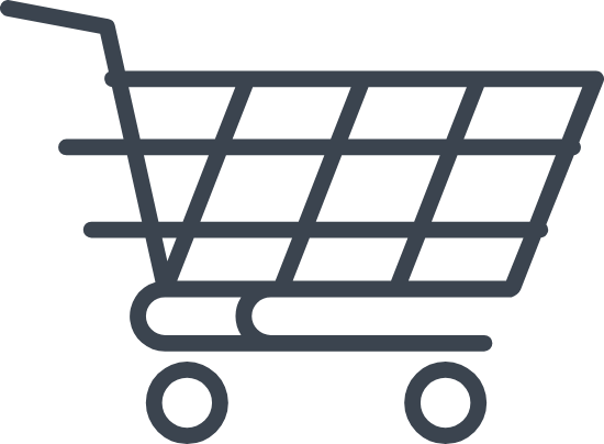 Blank Shopping Cart