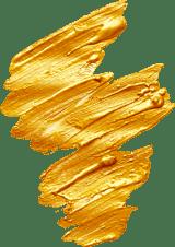 Zigzag Gold Stroke
