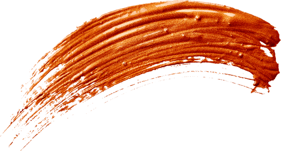 Curved Bronze Stroke