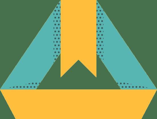 Pyramid Blank Banner