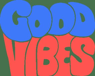Good Vibes Text