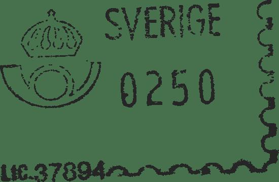 Sverige Postage