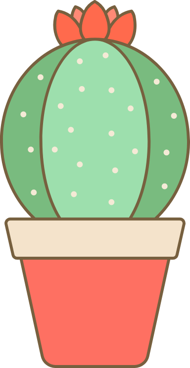 Potted Old Lady Cactus