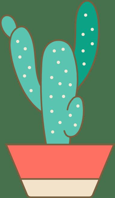Potted Desert Cactus