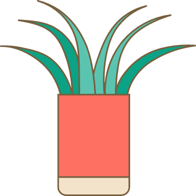 Potted Tall Grass