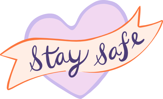 Stay Safe Graphic | PicMonkey Graphics