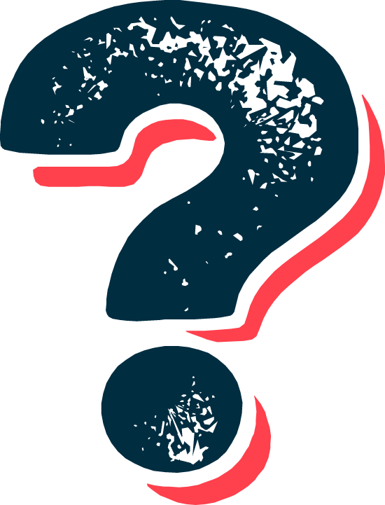 Textured Question Mark