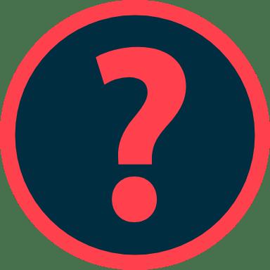 Encircled Question Mark