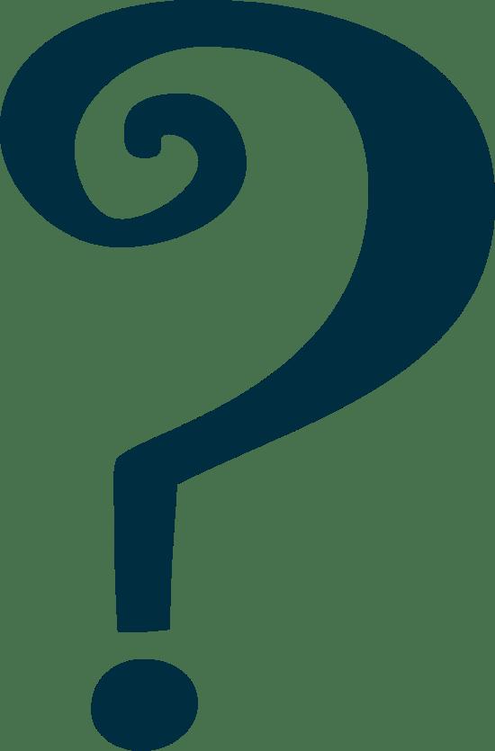 Fancy Question Mark