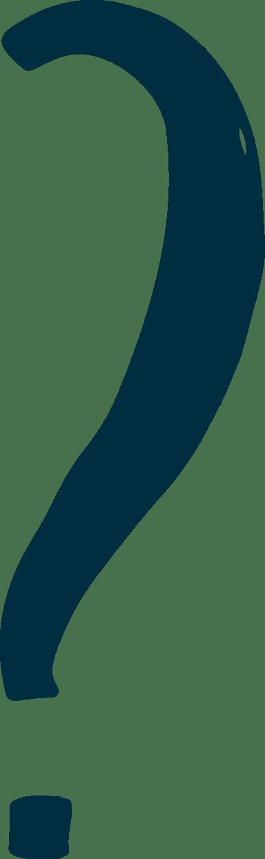 Slender Question Mark