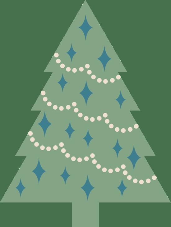 Adorned X-Mas Tree