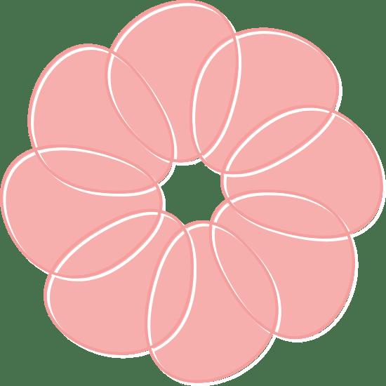 Large Petal Flower