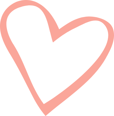 Stenciled Heart