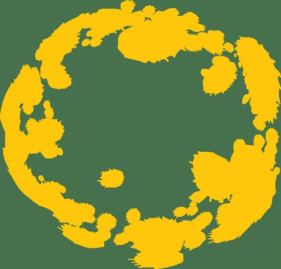 Blotchy Sketchy Circle