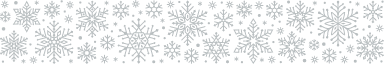 Packed Snowflake Border