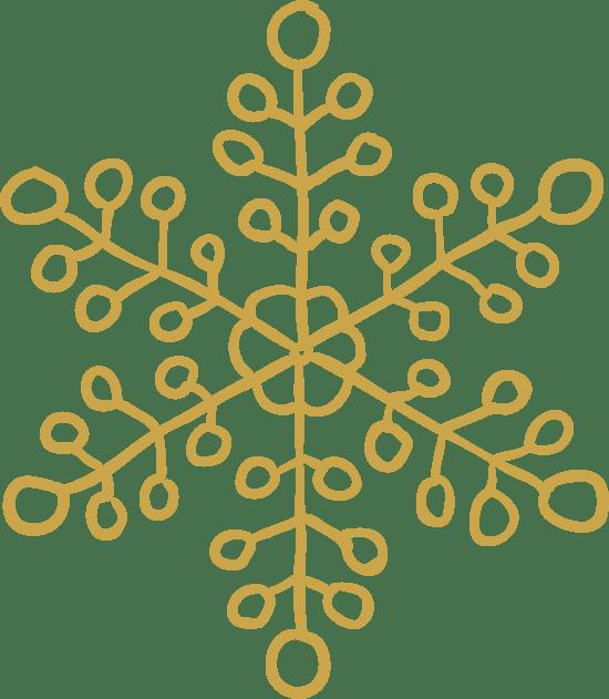 Leafy Snowflake