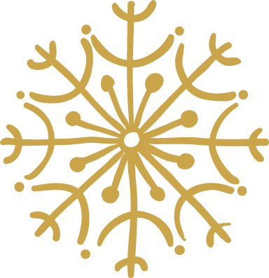 U-Shaped Snowflake