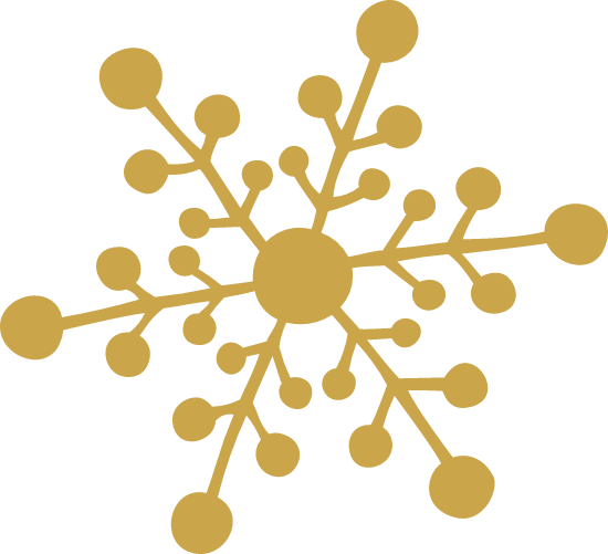 Dotted Snowflake