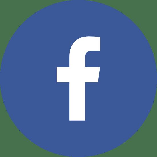Round Facebook