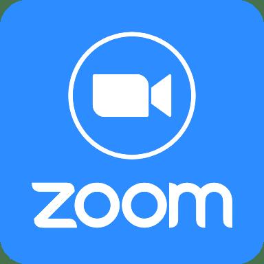 Zoom Logo Filled