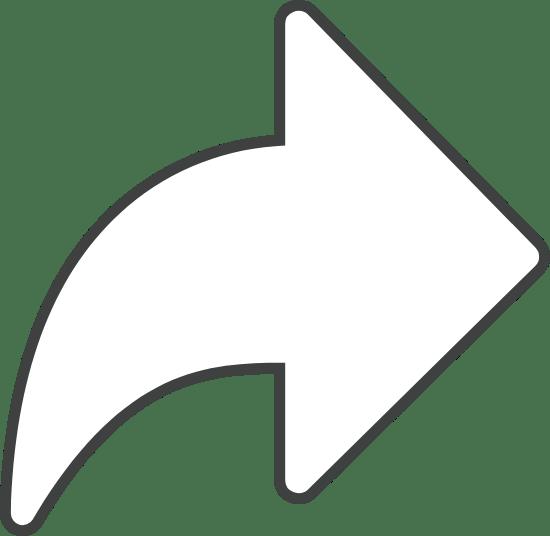 Reply Arrow Outline
