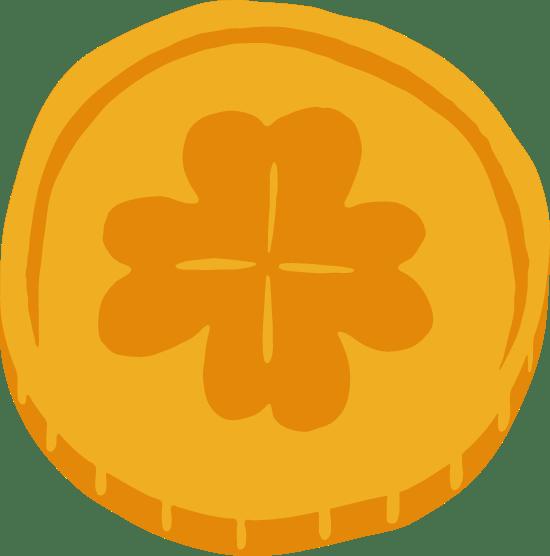 Lucky Gold Coin