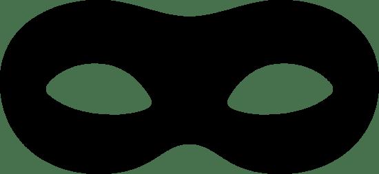 Rounded Eye Mask