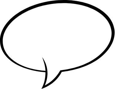 Round Speech Bubble