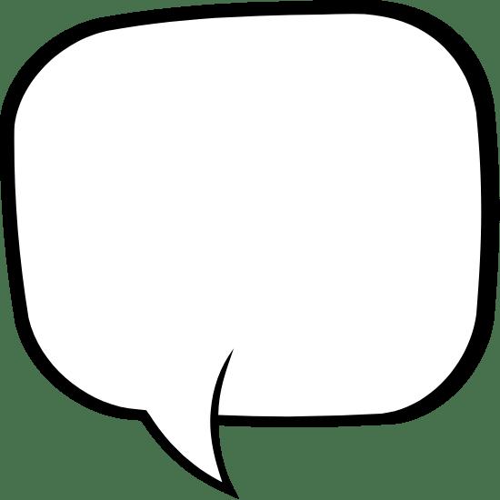 Square Speech Bubble
