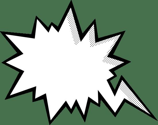 Zap Speech Bubble