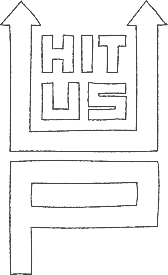 Hit Us Up Sticker