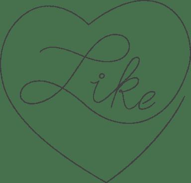 Like Heart Sticker
